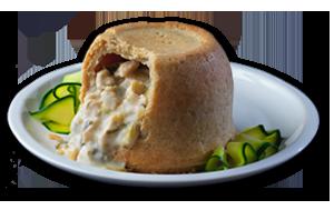 Chicken & Leek Pudding - GBP