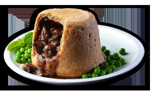 Lamb & Mint Pudding - GBP