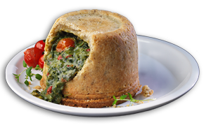 Spinach & Tomato Pudding - GBP
