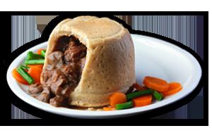 Steak & Kidney Pudding - GBP