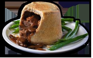 Steak & Mushroom Pudding - GBP